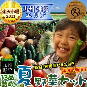 しあわせ食を、九州から。旬のタマチャン野菜セット