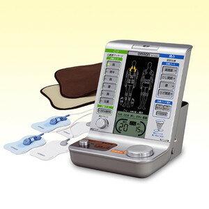 オムロン電気治療器 HV-F5200「こり」「痛み」の症状別電気治療と、「温熱治療」を1...