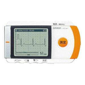 【お買い物マラソン限定クーポン!最大777円OFF!】オムロン 携帯型心電計 HCG-801