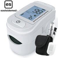 es フィンガーティップ パルスオキシメーター FP100BC 専用シリコンカバー付 血中酸素濃度計 医療機器認証 パルスオキシメーター 血中酸素飽和度 測定器 パルスオキシメータ