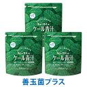 キューサイ青汁 ケール青汁 善玉菌プラス420g入 3袋まとめ買い