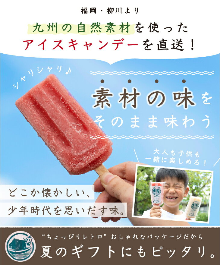JA柳川『柳川育ちのアイスキャンデー』