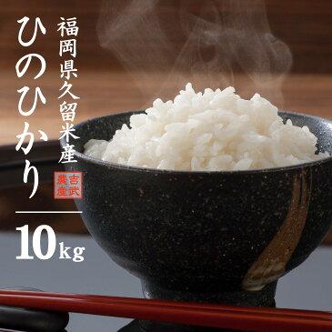 【送料無料】福岡県 ひのひかり 10kg 久留米産 米