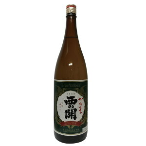 辛口に慣れたい方の登龍門的な銘柄。西の関 本醸造辛口西の関 本醸造辛口15度以上16度未満180...