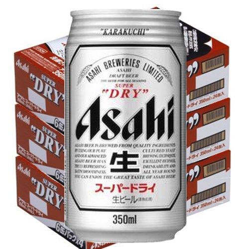 アサヒ スーパードライ350ml缶3ケース(72本入)【楽ギフ_のし】【楽ギフ_のし宛書】