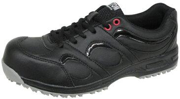 安全スニーカー ファントムF314X ブラック 【先芯入り踏抜き防止靴】 弘進ゴム製 22.5cm-30cm 軽量