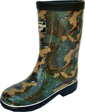 ムーンスターロンプC59カモフラージューキッズ長靴(在庫処分数量限定)