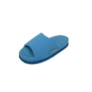 ツボ押し健康スリッパ リフレ 婦人用 ブルー 親指刺激