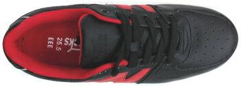 ジャッカルEXレッドJKEX-R厚底安全スニーカー【ノサックス】23.5−28.0cm