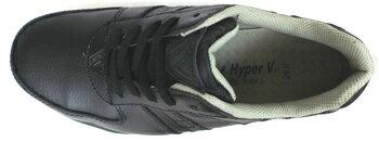 ハイパーV6100安全スニーカー合皮タイプ先芯入り在庫かぎりHyperV#6100(日進ゴム)24cm-28cm