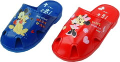 【ディズニー】【ミッキー・ミニー】【笛付ベビーサンダル】DS2212  ダイマツ 【Disneyzone】
