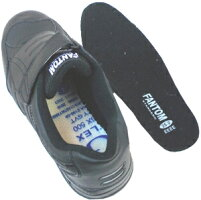 安全スニーカーファントムF315ブラック【先芯入り踏抜き防止靴】弘進ゴム製22.5cm-30cm軽量