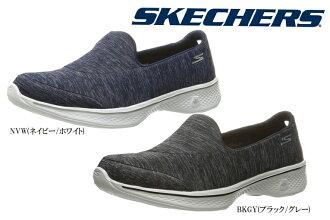 供suketchazu 14171 GO WALK4(婦女)(SKECHERS)shiura(Skechers)女士女性使用的女士運動鞋