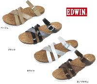 (EDWIN)エドウインEW9460婦人サンダル(ダイマツ)22-25cm