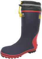 弘進ゴム安全長靴セーフティーブーツSB−3120ネイビーKOHSHIN24-30cm(メンズ鋼製先芯入)カバー付き安全長靴