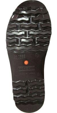 弘進ゴムハイブリーダーガードHB-500黒鋼製先芯入り日本製食品用安全長靴22.5-29cm(厨房シューズ|厨房安全長靴)
