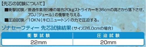 弘進ゴムゾナセーフティーS-100黒鋼製先芯入り日本製耐油安全長靴24-29cm