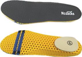 ノサックスKC-0055ブラック長編み耐滑区分「5」(23.5-29cm)