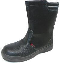 ノサックスKC-0088ブラック半長靴耐滑区分「5」(23.5-29cm)