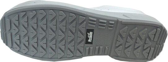 ノサックスKC-3500白安全スニーカー耐滑区分「5」(23.5-29cm)