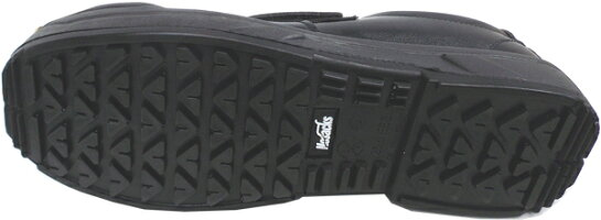ノサックスKC-3600ブラック24.5cm安全スニーカー耐滑区分「5」【在庫処分数量限定】