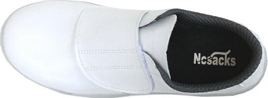 ノサックスKC-3600白安全スニーカー耐滑区分「5」(22.0-30.0cm)