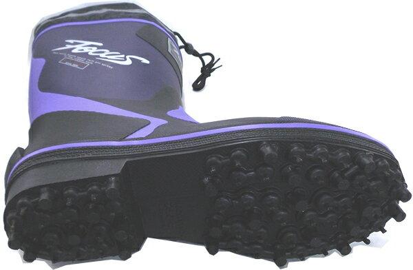 弘進ゴム フォーカスF-19 ネイビー ピンスパイク(紳士用長靴)  23-30cm