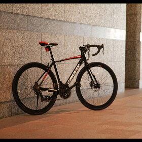ロードバイク700C21段変速付きグラベルロード自転車本体CANOVERカノーバーCAR-014-DCNEROネロ送料無料ロードスポーツスピード重視通学通勤街乗りメンズレディースツーリングドロップハンドル21段変速ロードレーサー自転車の九蔵