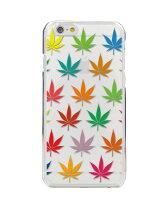 iPhone8ケース・iPhone8カバー(iPhone8ケース・カバー)【アイフォン6/かわいい・パターン・紅葉/クリア・ポリカーボネート・スマホケース/カバー】
