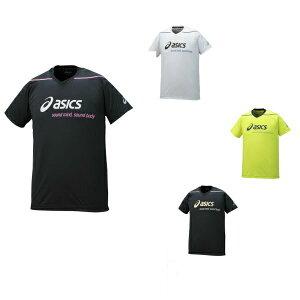 【メール便対応】プリント半袖シャツ 冷感シャツ アシックス asics ユニセックス半袖プラクティスシャツ 40%オフ XW6729 ? バレーボール バレー volley メンズ ユニセックス 練習着 半袖 Tシャツ
