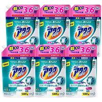 【ケース販売】ウルトラアタックNeo洗濯洗剤濃縮液体詰替用大容量1300g(3.6倍分)×6個