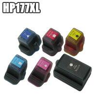 ★【セット】HP177互換インクセット増量品×5C8721HJC8719HJC8771HJC8772HJC8773HJC8774HJC8775HJHP177黒BK/C/M/Y/LC/LMプリンター送料無料10P13Dec13【あす楽対応】