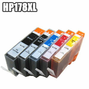 PCサプライ・消耗品, インクカートリッジ HP178XL ic hp178 BK PB C M Y Photosmart C5380 C6380 D5460 Premium FAX All-in-One C309a C309G C310c CN684HJ CB322HJ CB323HJ CB324HJ CB325HJ