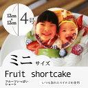 """【2〜4人向け】""""写真プレート付き""""7種類の果物をふんだんに..."""