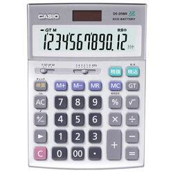 カシオ【CASIO】デスク型電卓DS-20WK★【DS20WK】