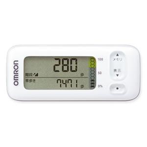 オムロン【OMRON】活動量計 カロリスキャン HJA-400-W(ホワイト)★【HJA-400-W】