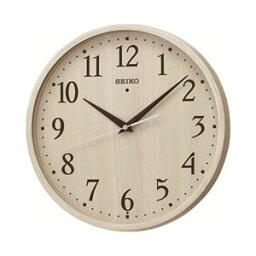 セイコー【SEIKO】電波掛け時計 ナチュラルスタイル KX399A(アイボリー木目模様)★【KX-399】