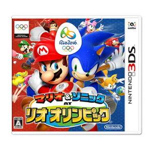 任天堂【3DS】マリオ&ソニック AT リオオリンピック CTR-P-BGXJ★【2/18新作…