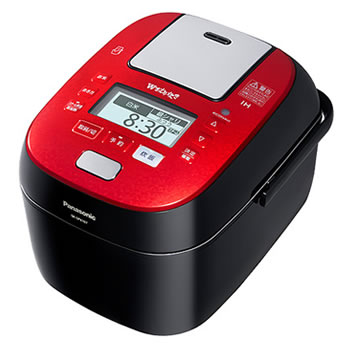 パナソニック【Wおどり炊き】5.5合 スチーム&可変圧力IHジャー炊飯器 SR-SPX107-RK★【SRSPX107RK】