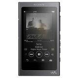 ソニー【SONY】16GB ウォークマングレイッシュブラック NW-A45-B★【NWA45B】