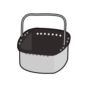 パナソニック【パーツ】ホームベーカリー用蒸し容器(スチームケース) ADA53-173★ADA53173