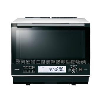 東芝【TOSHIBA】30L 過熱水蒸気オーブンレンジ グランホワイト ER-TD5000-W★【石窯ドーム】