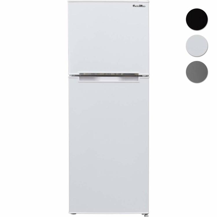 冷蔵庫冷凍庫138LARM-138L02WH・SL・BKGrandLine2ドア冷凍/冷蔵庫送料無料冷蔵庫冷凍冷蔵庫2ドア2扉キッチン家電家電左右ドアおしゃれ株式会社A-Stageホワイトシルバーブラック【D】