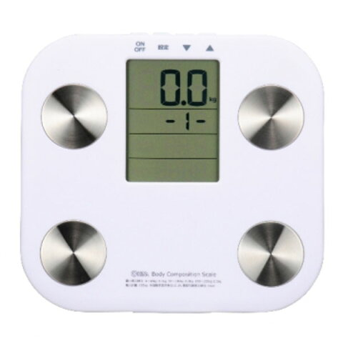 【送料無料】体重体組成計ホワイトHB-K90-W【OHM】【TC】【オーム電機】