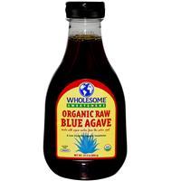 米国産オーガニック生ブルーアガベシロップたっぷり666g(Wholesome organic raw blue agave sir...