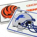 アメリカンフットボール、ライセンスプレート2(新品、NFLフットボール)