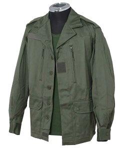 フランス軍F2(F1).OD.フィールドジャケット(新品、ミリタリー)