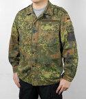 ドイツ軍、フレクター、カモシャツ(USED)G24U=