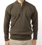 ブラウン セーター