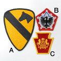 US.ミリタリー、カラー部隊章ワッペン(新品)1A